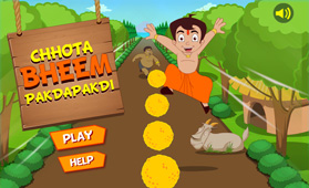Nilee Games Chotta Bheem Pakadapakdi